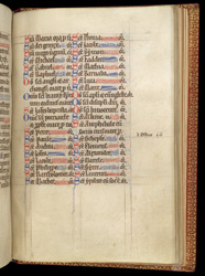 Litany With St. Albans Saints, In A Psalter